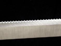 丸底ノッチナイフ
